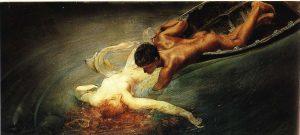 תמונה1Sartorio, Abisso Verde, 1892, 72 X 144 cm. Roma, Collezione privata.