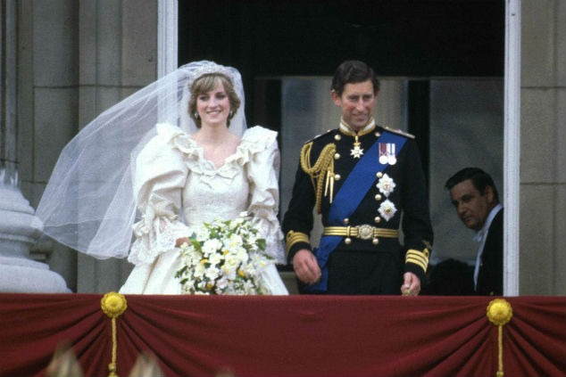 דיאנה וצ'ארלס צילום: Express Newspapers/Getty Images