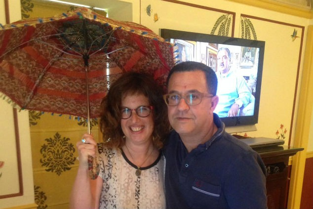 ענת לוי עם בעלה (אלבום פרטי)