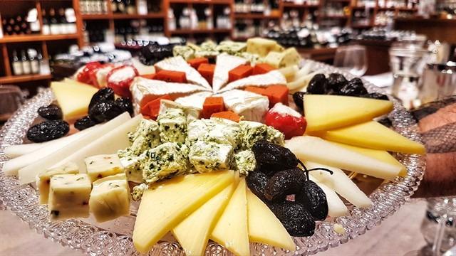גבינות ויין, שילוב מנצח