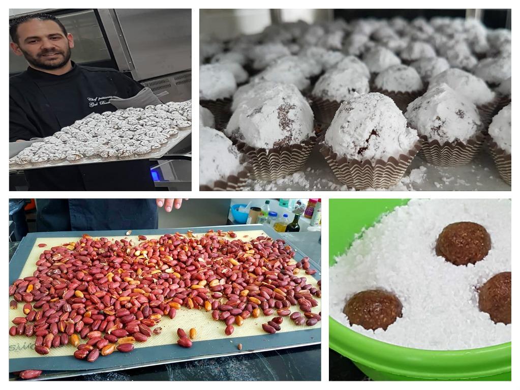 צילום לבנה רייזר - צילום בסדנה הכנת מתוקים לממונה - עוגיות בוטנים (טרפש)