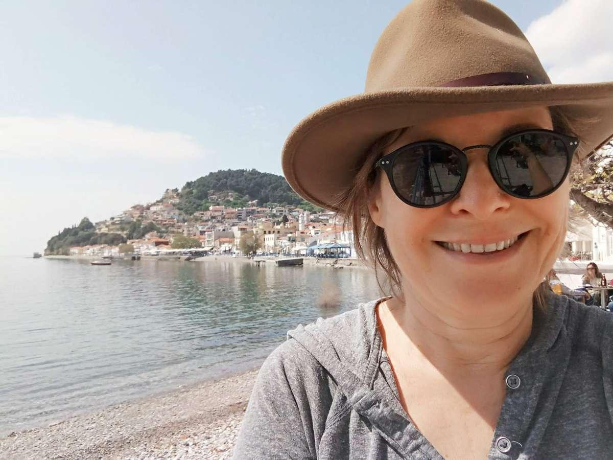 החיוך שלי לא משקר. לימני, יוון, אחת העיירות החביבות עלי בעולם כולו