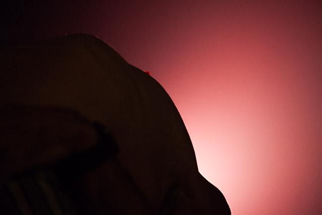 ג'ונתן נוסן מתעקל. צילום: ענבל כהן חמו