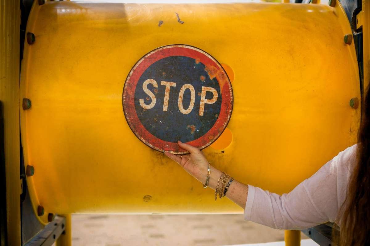 חשוב לעצור ולהכניס רכות