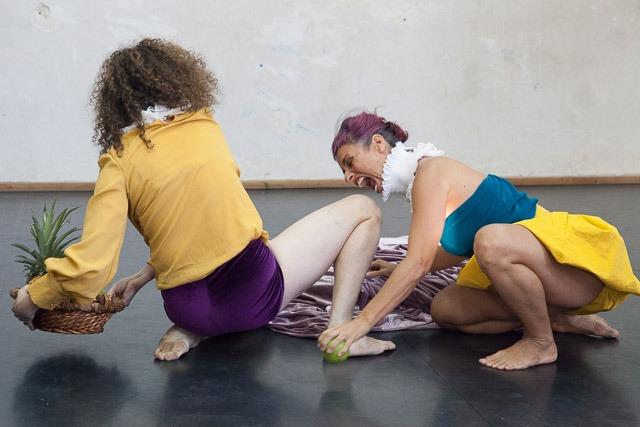 """נשים ותשוקה ב""""פרסונה"""". צילום: ענבל כהן חמו"""