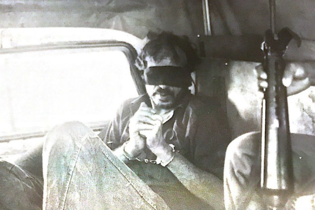 """תעאמרי צילום מחלון מכוניתו של סא""""ל שץ"""