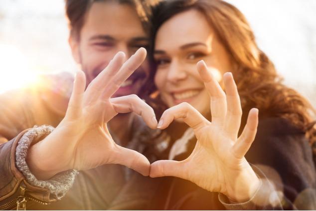 זוג מאוהב (צילום: שאטרסטוק / Rido)