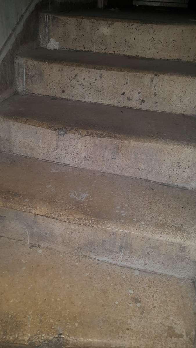 המדרגות לתחתית של התחתית