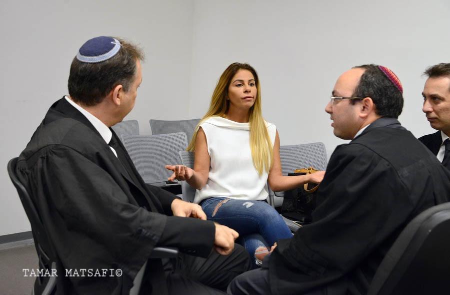 Inbal Orr in court