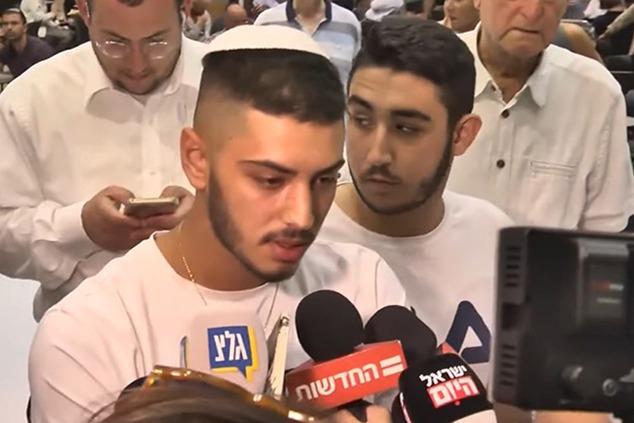 אחד החשודים באונס בקפריסין מתראיין (צילום מסך)