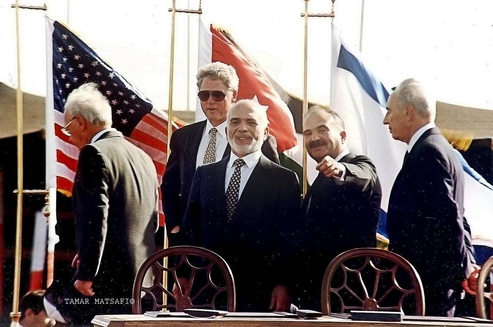חתימת הסכם השלום ישראל ירדן 2_resize