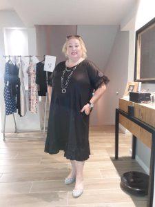 שמלה: קארן פרנקל נעליים: אסוס שרשרת: ננסי בנימין