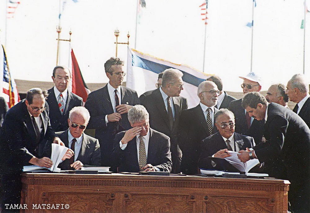 חתימת הסכם השלום ישראל ירדן_resize