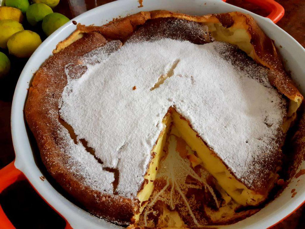 עוגת גבינה אפויה לייט עשי קאופמן הבלבוסטע במטבח