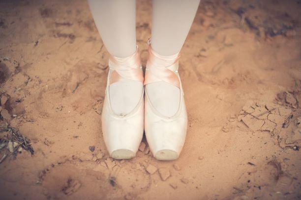 נעלי פוינט של ענבר צילום: זוהר סיארה