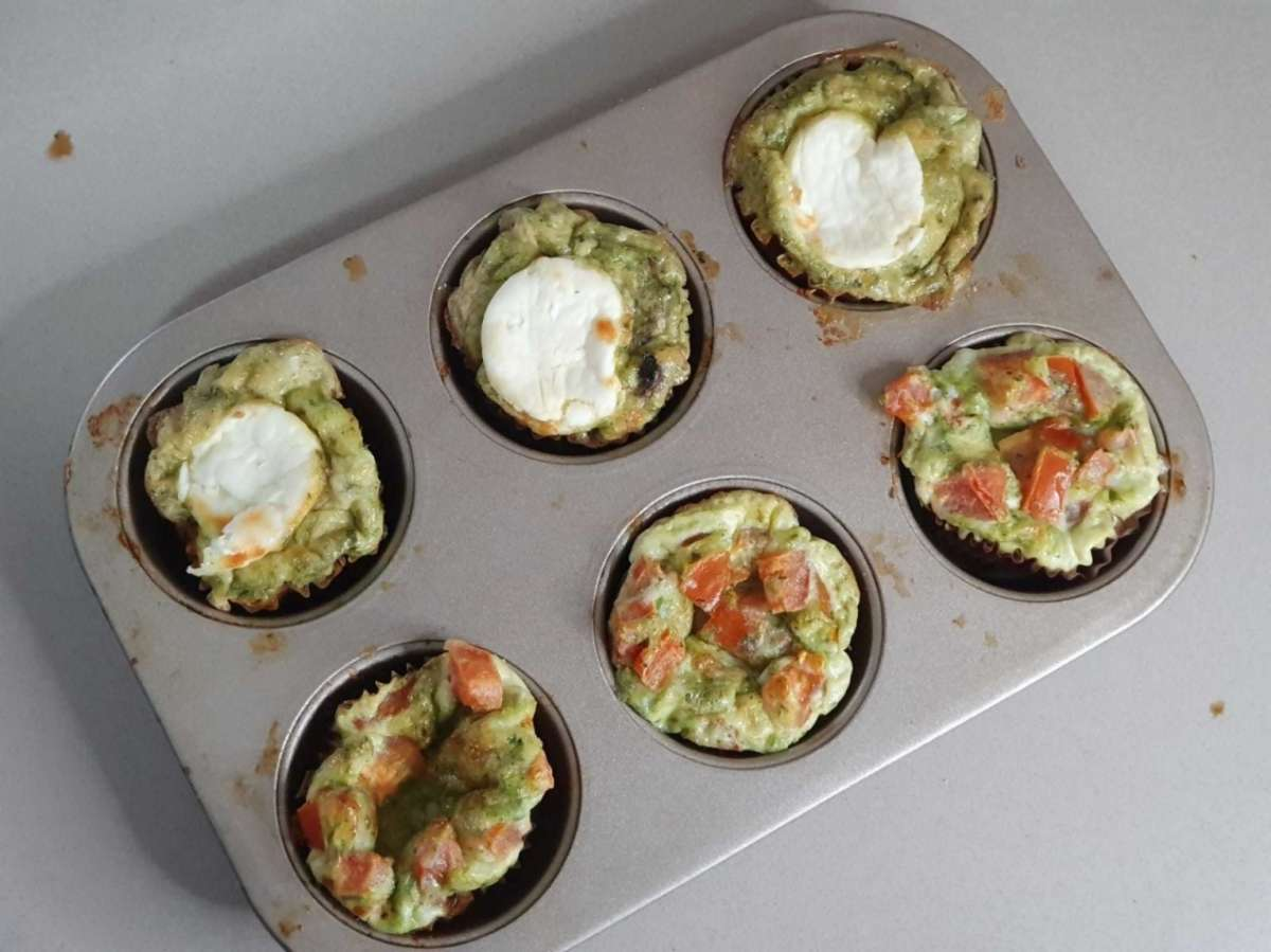 מאפינס ביצים לארוחת הבוקר. צילום: ליה ופני ורבינוביץ