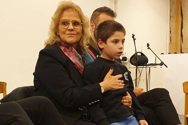 """דולב, ילד בן 8 שקופץ מרעמים, עם ח""""כ אורלי פרומן (אלבום פרטי)"""