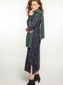 שמלת מקסי מודפסת BID