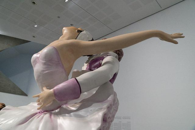 ג'ף קונס, זוג רקדני בלט. צילום: ענבל כהן חמו