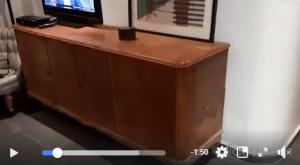 איך לצבוע שידה וינטג' | ייעוץ בוידאו אורנה בר סטודיו אורנה ומינה