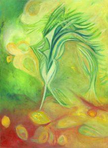 """מתוך הספר """"ברכת הנהר"""" כתבה וציירה: דניאלה פז אורה"""