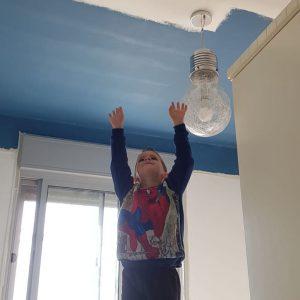 צביעת חדר ילדים - ייעוץ צבעים סטודיו אורנה ומינה