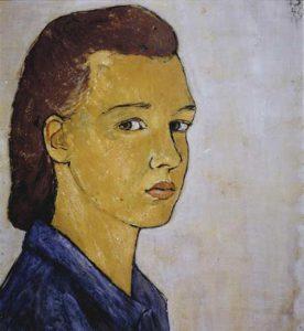 דיוקן עצמי, שרלוטה סלומון, 1940