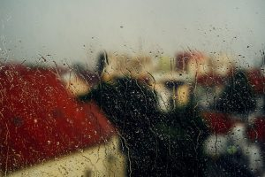 גשם בחלון