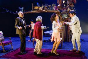 נדב נייטס, אביגיל הררי, מרים זוהר, שרי שמחוב ויצחק חזקיה. צילום: רדי רובינשטיין