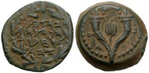 המטבע של הורקנוס שנקל