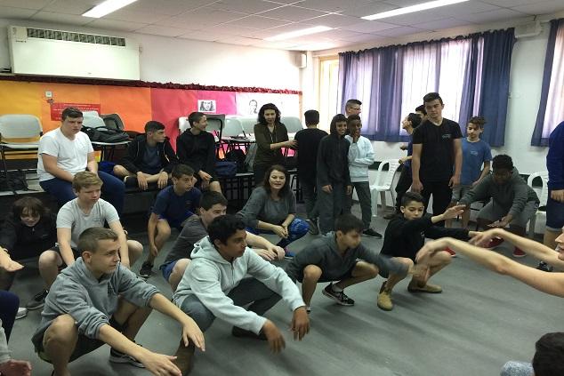 שיתוף פעולה מלא של התלמידים