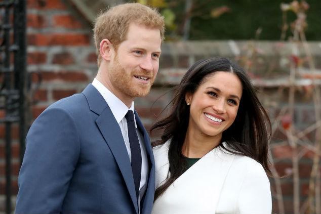 מייגן והנסיך הארי צילום:  Chris Jackson/Chris Jackson/Getty Images