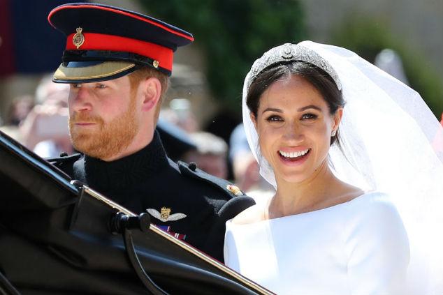 מייגן מרקל והנסיך הארי נשואים Photo by Gareth Fuller - WPA/Getty Images