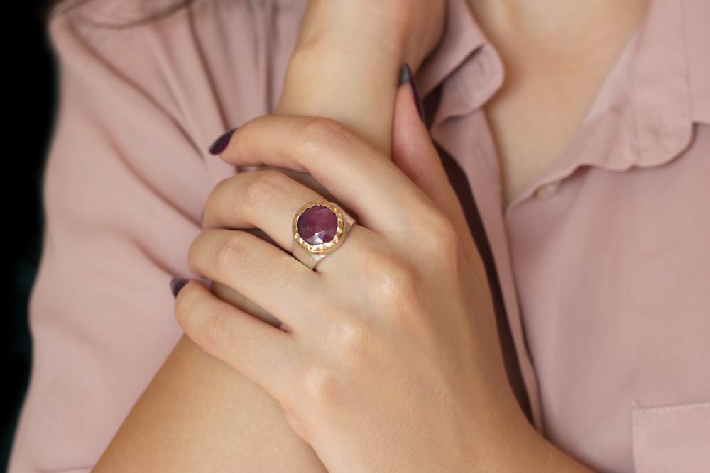 sigal ruby ring