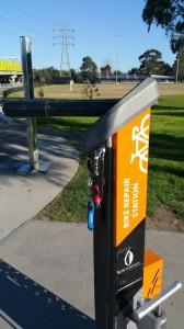 מתקן לתיקון אופניים מלבורן