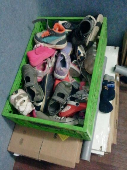 נעלים ממתינות ליציאה
