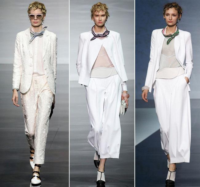   אמפוריו ארמני - ואריאציות על נושא חליפת מכנסים  
