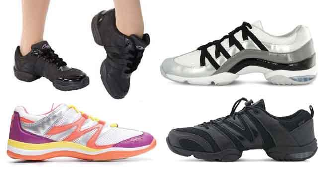 | נעלי אימון של רקדנים | למעלה משמאל Capezio | כל האחרים Bloch | למטה מימין: אלה נעלי היומיום שלי כבר שלושה חורפים |
