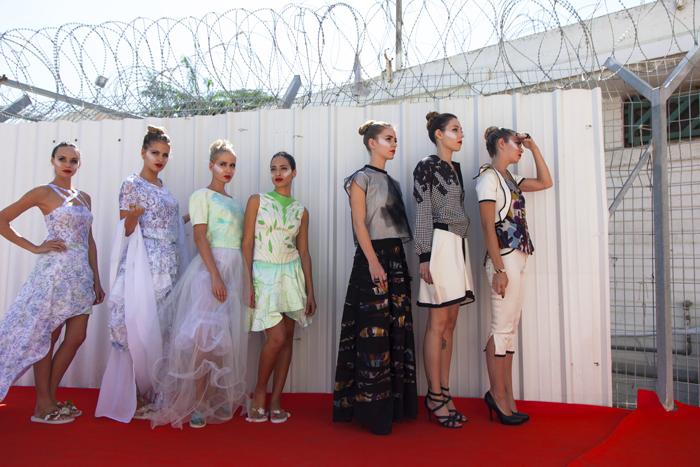 תצוגת אופנה בנווה תירצה