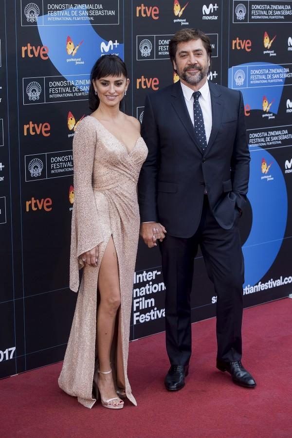 Penélope Cruz et son mari