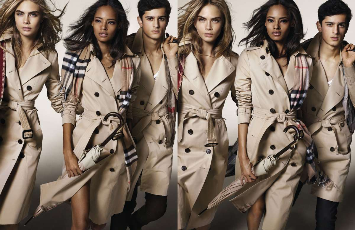 resized_Cara Delevingne, Malaika Firth and Tarun Nijjer featuring in theBurberry Autumn_Winter 2014 Campaign (strictly on embargo until Tuesday 10 June 2014)