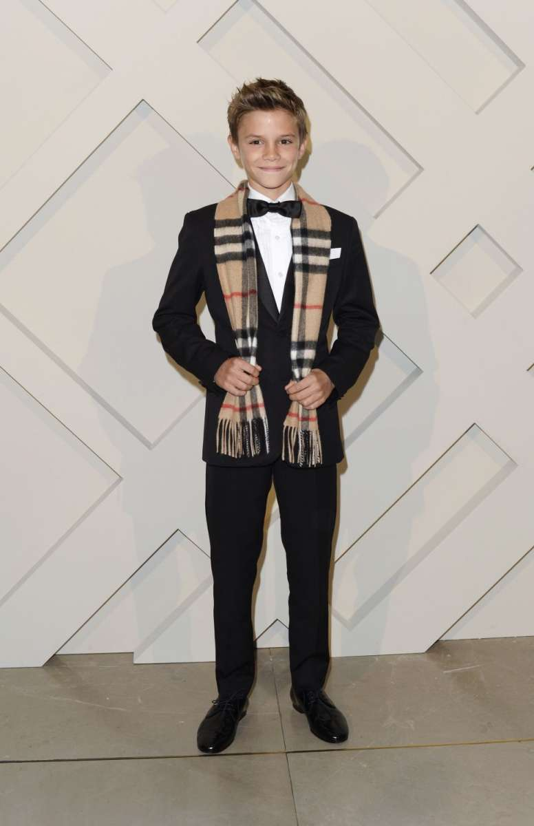 resized_Romeo Beckham at the launch of the Burberry festive campaign at the Burberry Flagship, 121 Regent Street1