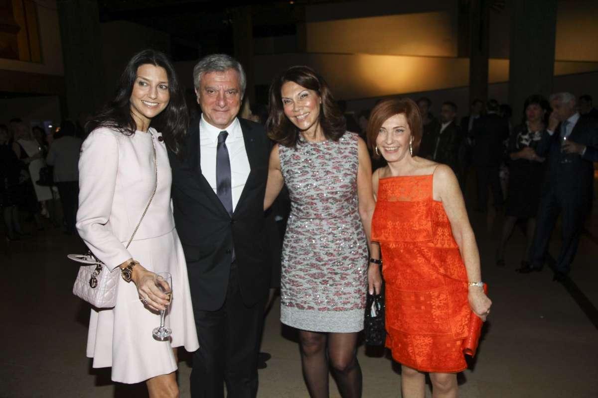 resized_סילביה שוורצמן אסתי אקרמן נשיא דיור סידני טולדנו ורעייתי קטיה טולדנו באירוע Dior צילום אלירן אביטל