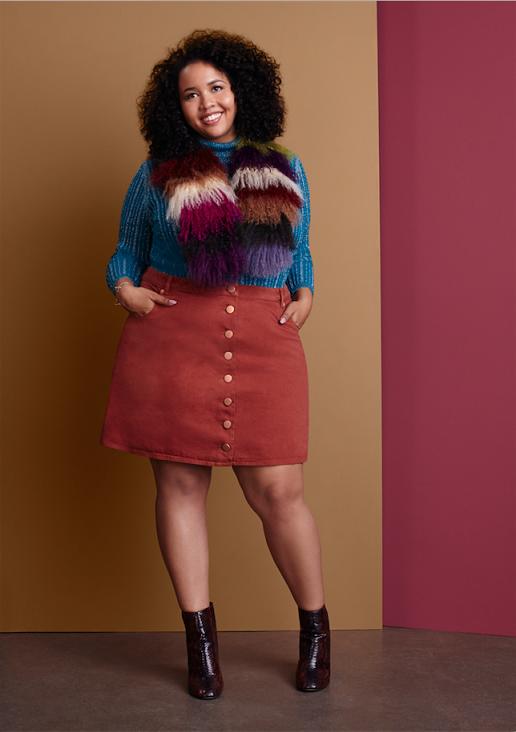 ASOS CURVE  חצאית175שח  סוודר 175שח צילום יחצ (3)