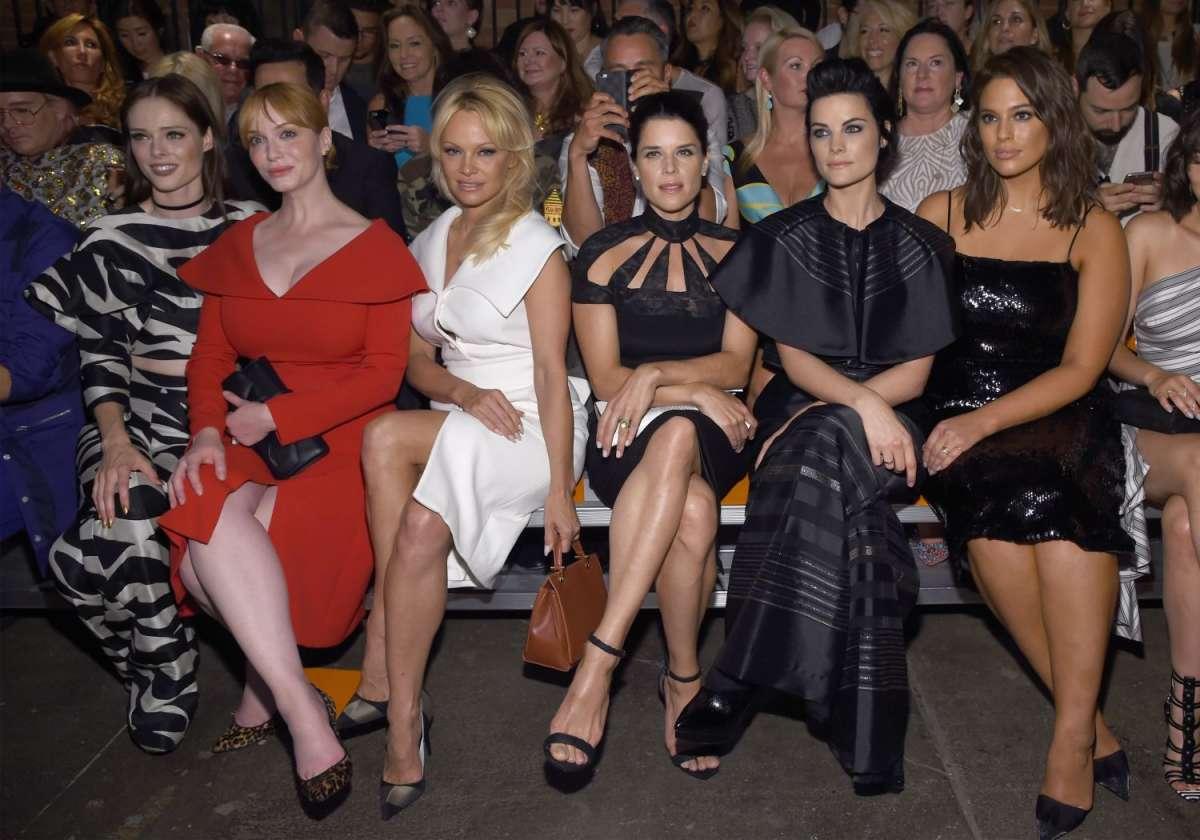 resized_Coco Rocha, Christina Hendricks, Pamela Anderson, Neve Campbell, Jaimie Alexander and Ashley Graham