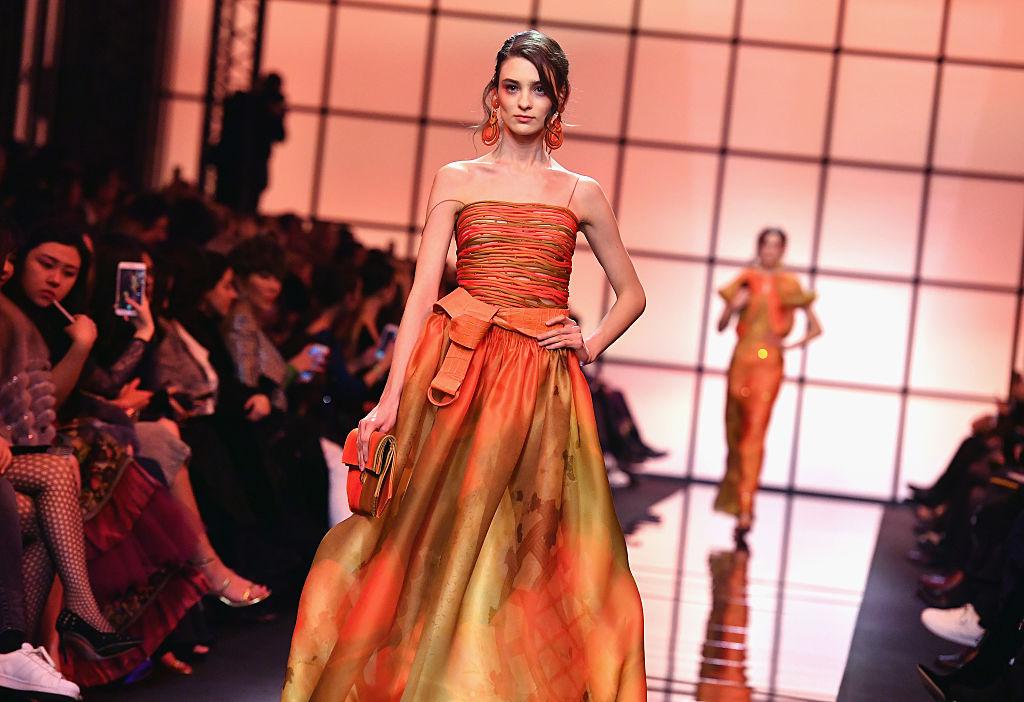 Giorgio Armani Prive : Runway - Paris Fashion Week - Haute Couture Spring Summer 2017