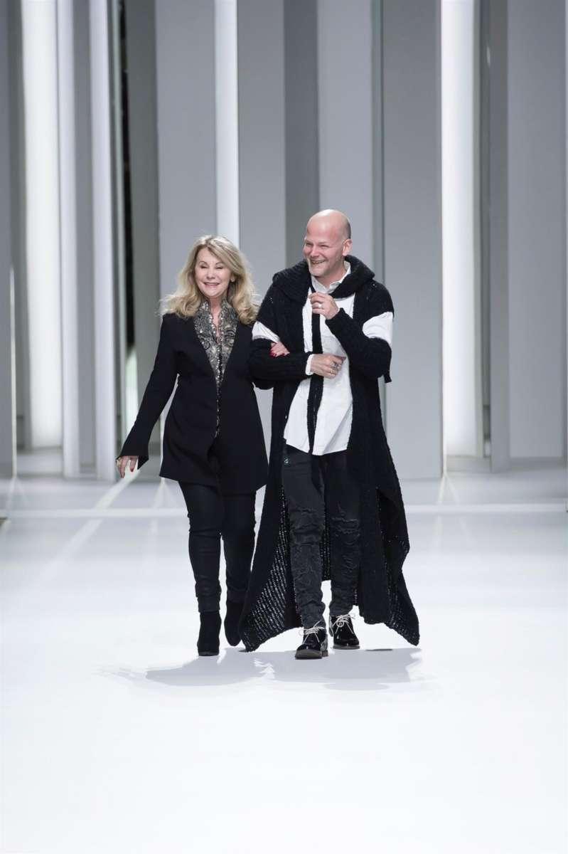 גליה להב ושרון סבר שבוע האופנה הוט קוטור פריס צילום יחצ