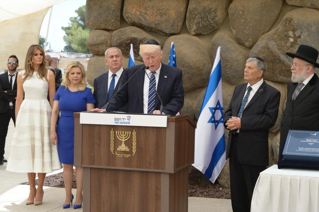 US President Donald Trump visits Israel