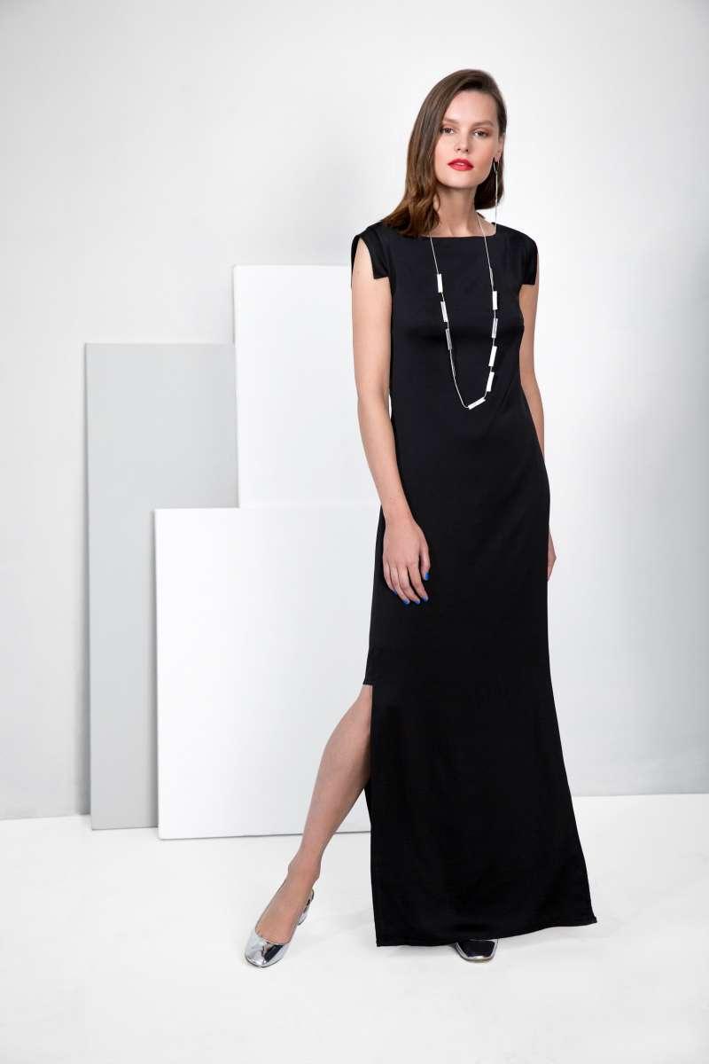 פזית קידר שמלת ערב שחורה  1390שח צילום ליאור קסון