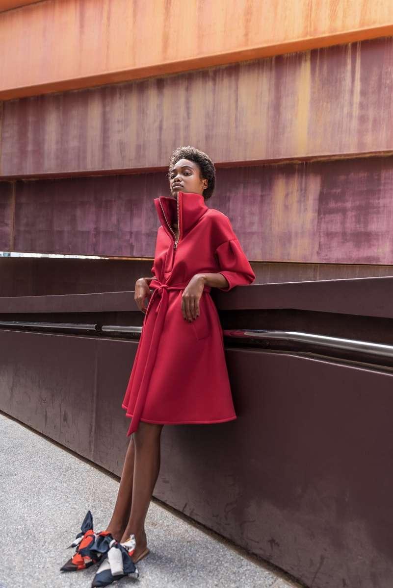 דנה סידי שמלת ספארי 699 שח צילום אביב אברמוב